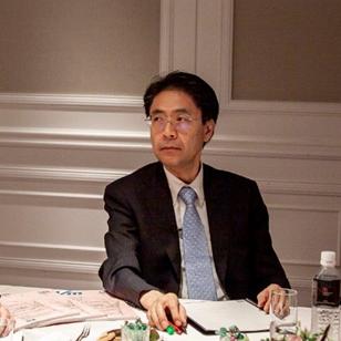 対談する永田先生